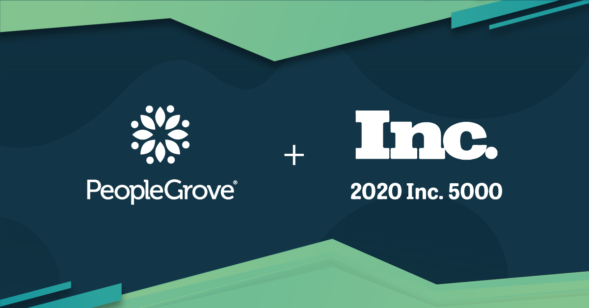 PeopleGrove Recognized by Inc. Magazine as One of America's Fastest Growing Private Companies