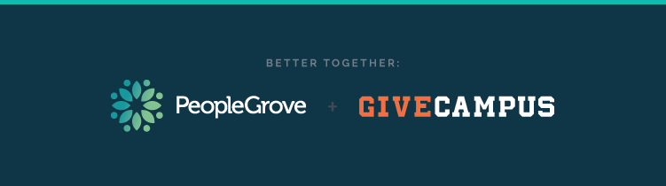 PeopleGrove and GiveCampus Announce a Partnership to Connect Alumni Value and Engagement to Giving