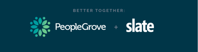 PeopleGrove Announces Partnership with Slate